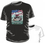KOOLART AMERICAN MUSCLE CAR Design for Ford F150 Pick Up Truck mens or ladyfit t-shirt